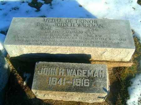 WAGEMAN, JOHN  H - Clermont County, Ohio | JOHN  H WAGEMAN - Ohio Gravestone Photos