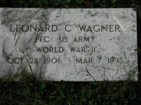 WAGNER, LEONARD C. - Clermont County, Ohio | LEONARD C. WAGNER - Ohio Gravestone Photos
