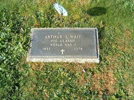 WAIT, ARTHUR  L - Clermont County, Ohio | ARTHUR  L WAIT - Ohio Gravestone Photos