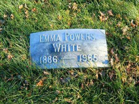 WHITE, EMMA - Clermont County, Ohio | EMMA WHITE - Ohio Gravestone Photos