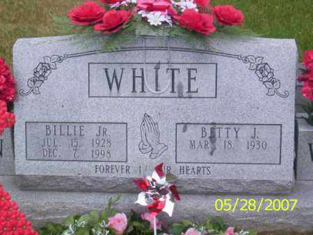 WHITE, BETTY J. - Clermont County, Ohio | BETTY J. WHITE - Ohio Gravestone Photos