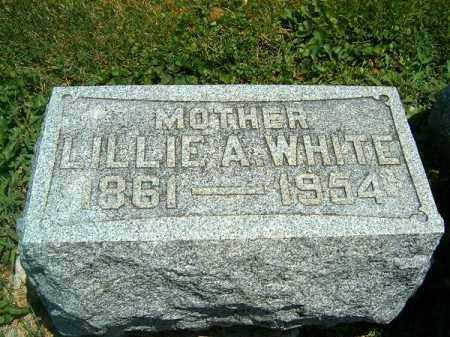 WHITE, LILLIE  A - Clermont County, Ohio | LILLIE  A WHITE - Ohio Gravestone Photos