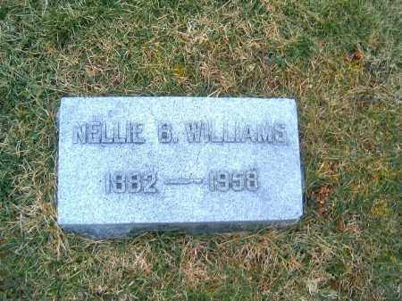 WILLIAMS, NELLIE  B - Clermont County, Ohio | NELLIE  B WILLIAMS - Ohio Gravestone Photos