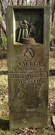 WILLIAMS, ZEBINA - Clermont County, Ohio | ZEBINA WILLIAMS - Ohio Gravestone Photos