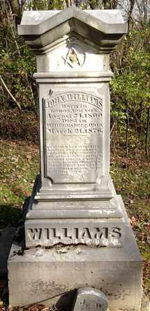 WILLIMS, JOHN - Clermont County, Ohio | JOHN WILLIMS - Ohio Gravestone Photos