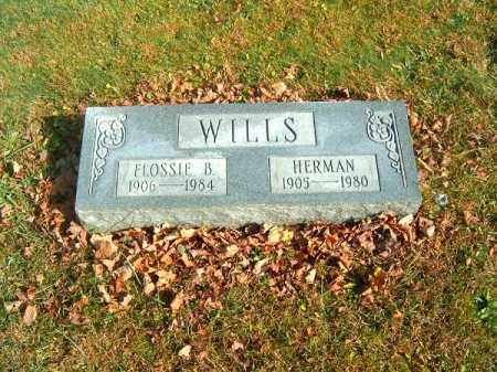 WILLS, FLOSSIE  B - Clermont County, Ohio | FLOSSIE  B WILLS - Ohio Gravestone Photos