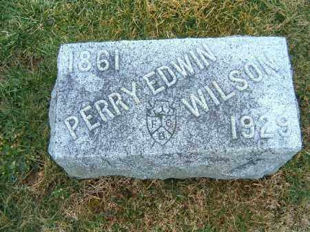 WILSON, PERRY  EDWIN - Clermont County, Ohio | PERRY  EDWIN WILSON - Ohio Gravestone Photos