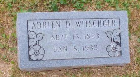 WITSCHGER, ADRIEN D. - Clermont County, Ohio | ADRIEN D. WITSCHGER - Ohio Gravestone Photos