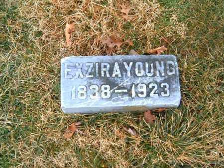 YOUNG, EXZIRA - Clermont County, Ohio | EXZIRA YOUNG - Ohio Gravestone Photos