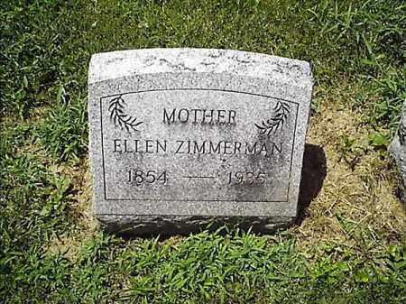ZIMMERMAN, ELLEN - Clermont County, Ohio | ELLEN ZIMMERMAN - Ohio Gravestone Photos