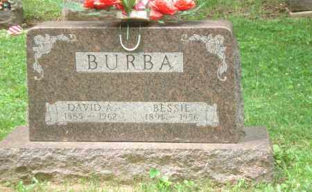 BURBA, BESSIE - Clinton County, Ohio | BESSIE BURBA - Ohio Gravestone Photos