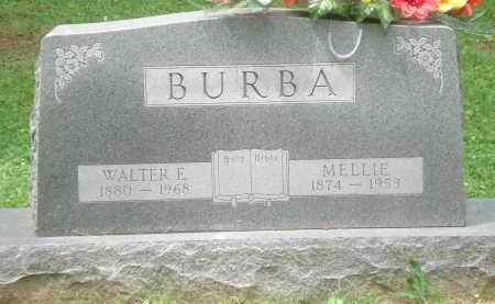 E BURBA, WALTER - Clinton County, Ohio | WALTER E BURBA - Ohio Gravestone Photos