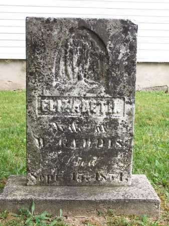 GADDIS, ELIZABETH JANE - Clinton County, Ohio | ELIZABETH JANE GADDIS - Ohio Gravestone Photos