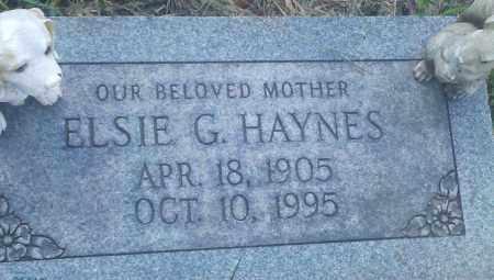 HAYNES, ELSIE GERTRUDE - Clinton County, Ohio | ELSIE GERTRUDE HAYNES - Ohio Gravestone Photos
