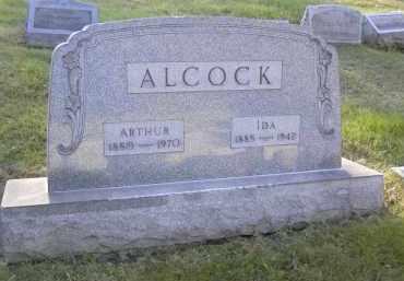 ALCOCK, IDA - Columbiana County, Ohio | IDA ALCOCK - Ohio Gravestone Photos
