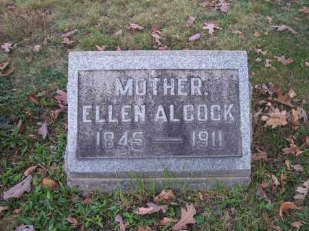 ALCOCK, ELLEN - Columbiana County, Ohio | ELLEN ALCOCK - Ohio Gravestone Photos