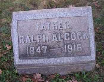 ALCOCK, RALPH - Columbiana County, Ohio | RALPH ALCOCK - Ohio Gravestone Photos