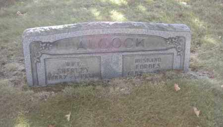 ALCOCK, SHERLEY - Columbiana County, Ohio | SHERLEY ALCOCK - Ohio Gravestone Photos