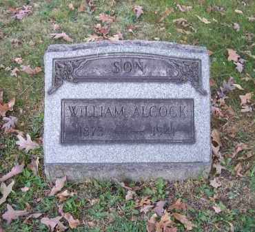 ALCOCK, WILLIAM - Columbiana County, Ohio | WILLIAM ALCOCK - Ohio Gravestone Photos