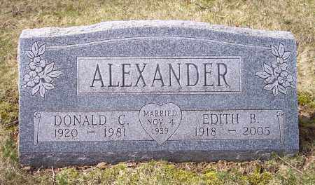 ALEXANDER, DONALD C. - Columbiana County, Ohio | DONALD C. ALEXANDER - Ohio Gravestone Photos
