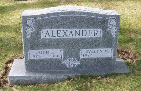 ALEXANDER, EVELYN M. - Columbiana County, Ohio | EVELYN M. ALEXANDER - Ohio Gravestone Photos