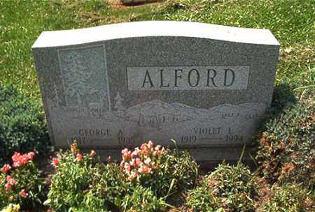 HANLON ALFORD, VIOLET - Columbiana County, Ohio | VIOLET HANLON ALFORD - Ohio Gravestone Photos