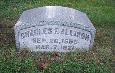 ALLISON, CHARLES F. - Columbiana County, Ohio | CHARLES F. ALLISON - Ohio Gravestone Photos