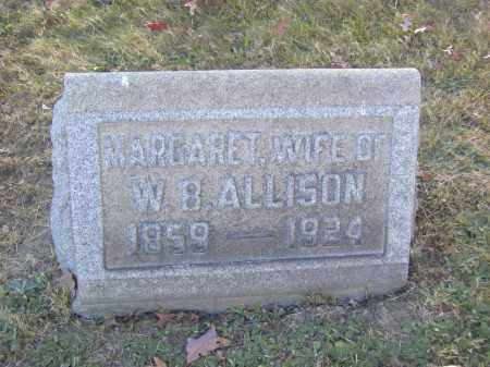 ALLISON, MARGARET - Columbiana County, Ohio | MARGARET ALLISON - Ohio Gravestone Photos