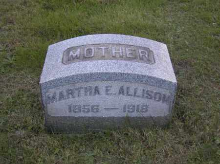 ALLISON, MARTHA E. - Columbiana County, Ohio | MARTHA E. ALLISON - Ohio Gravestone Photos