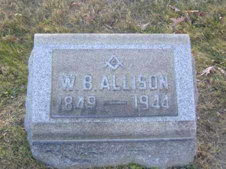 ALLISON, W.B. - Columbiana County, Ohio | W.B. ALLISON - Ohio Gravestone Photos