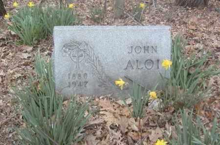 ALOI, JOHN - Columbiana County, Ohio | JOHN ALOI - Ohio Gravestone Photos