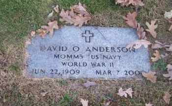 ANDERSON, DAVID O> - Columbiana County, Ohio | DAVID O> ANDERSON - Ohio Gravestone Photos