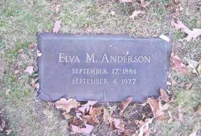 ANDERSON, ELVA M. - Columbiana County, Ohio | ELVA M. ANDERSON - Ohio Gravestone Photos
