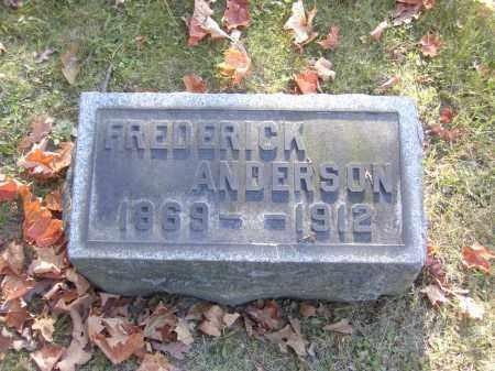 ANDERSON, FREDERICK - Columbiana County, Ohio | FREDERICK ANDERSON - Ohio Gravestone Photos