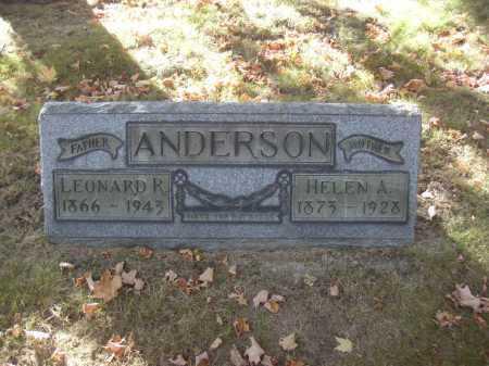 ANDERSON, HELEN A. - Columbiana County, Ohio | HELEN A. ANDERSON - Ohio Gravestone Photos