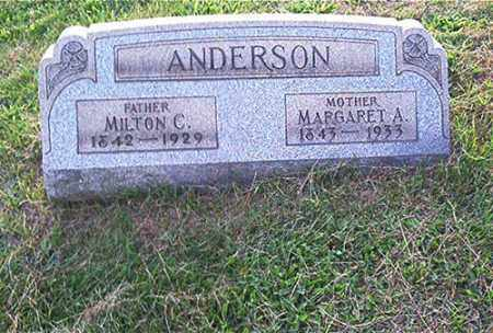 ANDERSON, MARGARET A. - Columbiana County, Ohio | MARGARET A. ANDERSON - Ohio Gravestone Photos