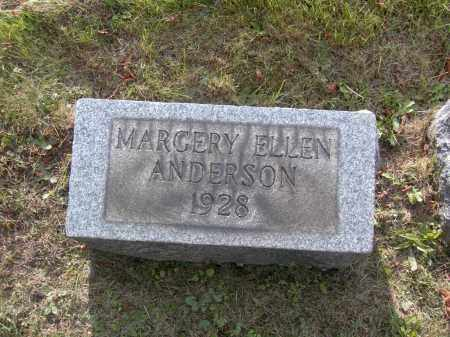ANDERSON, MARGERY ELLEN - Columbiana County, Ohio | MARGERY ELLEN ANDERSON - Ohio Gravestone Photos