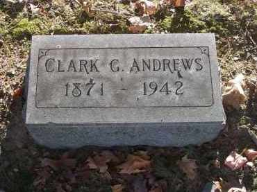 ANDREWS, CLARK G. - Columbiana County, Ohio | CLARK G. ANDREWS - Ohio Gravestone Photos