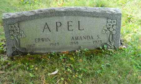APEL, ERWIN - Columbiana County, Ohio | ERWIN APEL - Ohio Gravestone Photos