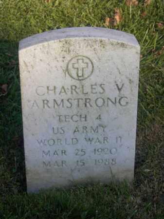 ARMSTRONG, CHARLES V. - Columbiana County, Ohio | CHARLES V. ARMSTRONG - Ohio Gravestone Photos