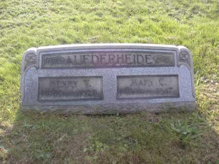 AUFDERHEIDE, HENRY W. - Columbiana County, Ohio | HENRY W. AUFDERHEIDE - Ohio Gravestone Photos