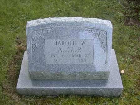 AUGUR, HAROLD W. - Columbiana County, Ohio | HAROLD W. AUGUR - Ohio Gravestone Photos