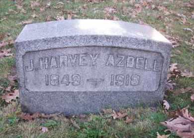 AZDELL, J. HARVEY - Columbiana County, Ohio | J. HARVEY AZDELL - Ohio Gravestone Photos