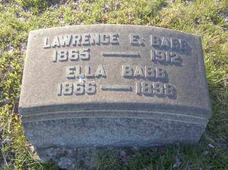 BABB, LAWRENCE E. - Columbiana County, Ohio | LAWRENCE E. BABB - Ohio Gravestone Photos