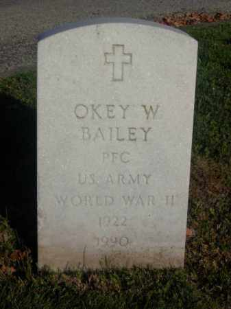 BAILEY, OKEY W. - Columbiana County, Ohio | OKEY W. BAILEY - Ohio Gravestone Photos