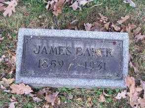 BAKER, JAMES - Columbiana County, Ohio | JAMES BAKER - Ohio Gravestone Photos