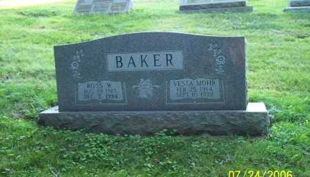 BAKER, VESTA - Columbiana County, Ohio | VESTA BAKER - Ohio Gravestone Photos