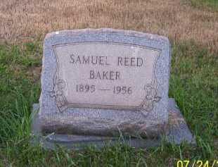 BAKER, SAMUEL REED - Columbiana County, Ohio | SAMUEL REED BAKER - Ohio Gravestone Photos