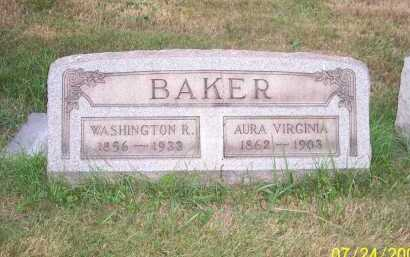 BAKER, AURA VIRGINIA - Columbiana County, Ohio | AURA VIRGINIA BAKER - Ohio Gravestone Photos