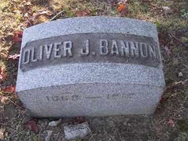BANNON, OLIVER J. - Columbiana County, Ohio | OLIVER J. BANNON - Ohio Gravestone Photos